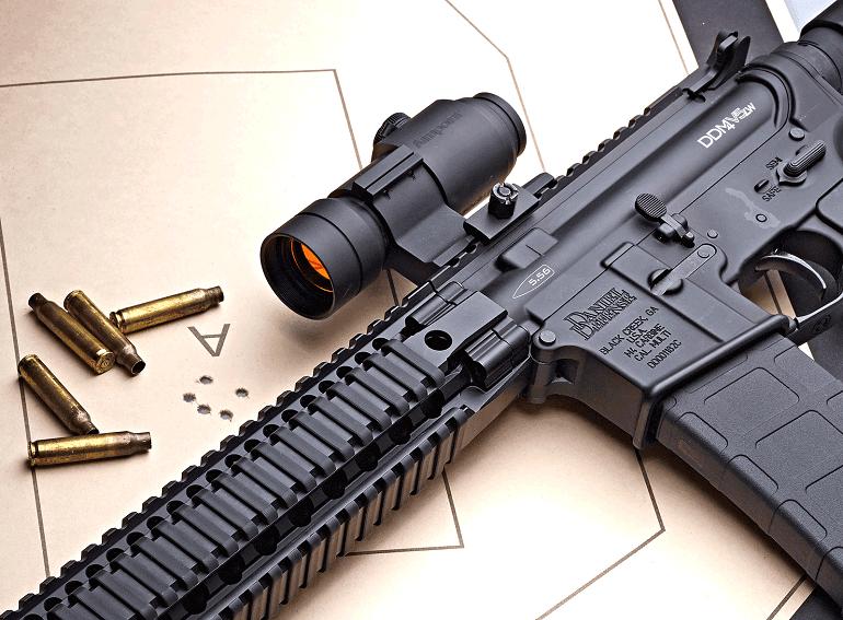 mcg reflex red dot sight