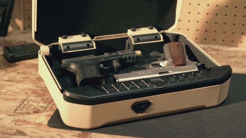 biometric gun safes