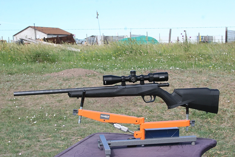 Bushnell rimfire scope under test