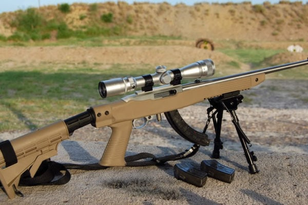ruger 10/22 with scope