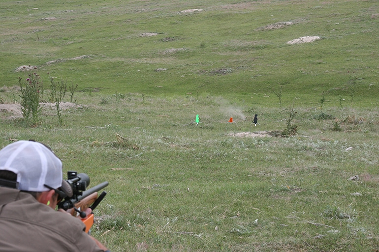 shooting with Bushnell Rim Fire