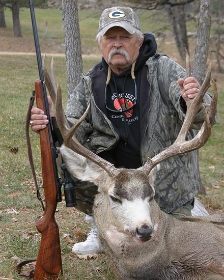 300 win mag hunting rifle