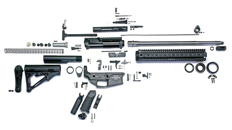 ar-15 parts diagram