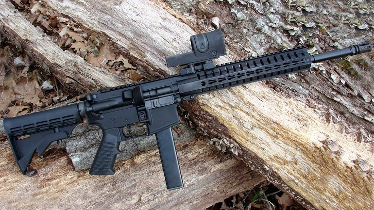 9mm carbine rifle