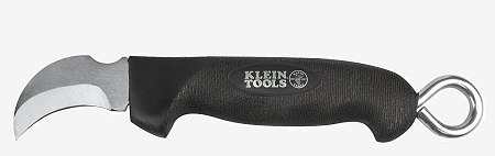 Klein Tool 1570-3 Cable Lineman's Skinning Knife.