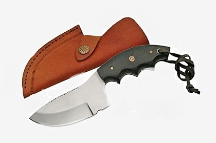 SZCO Supplies Micarta File Works Skinning Knife