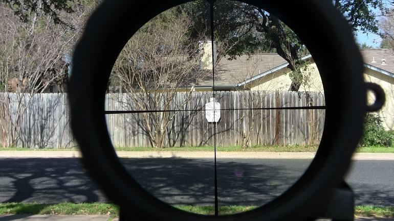 air rifle scope accuracy
