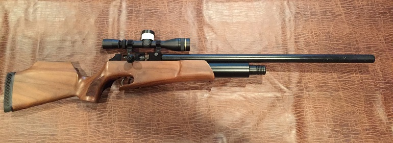 scope for air rifle
