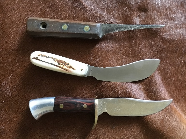 skinning knives reviews