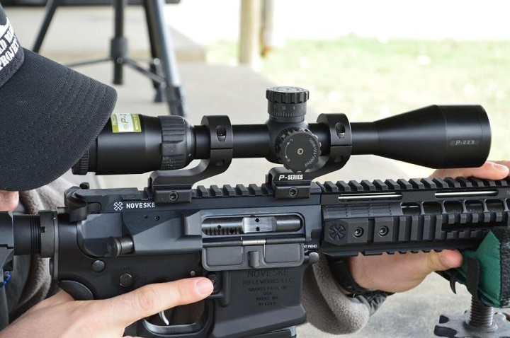 ar 15 hunting scope
