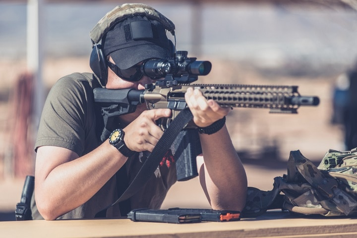 ar 15 with scope