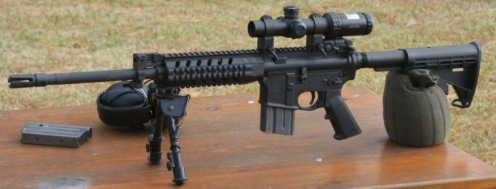 ar rifle scopes