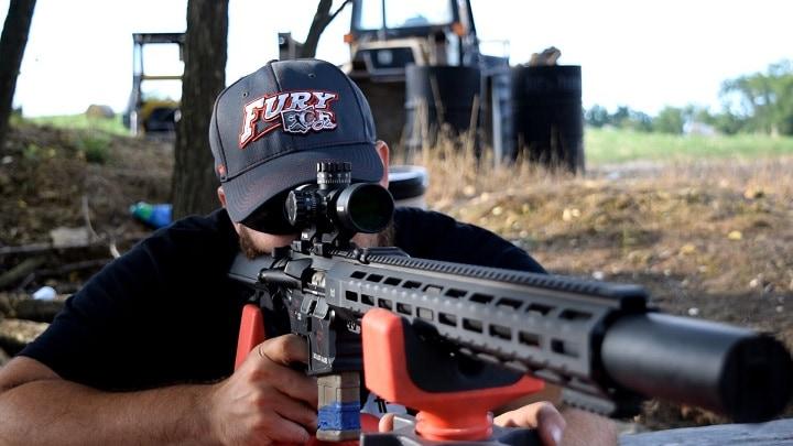 best ar hunting scope