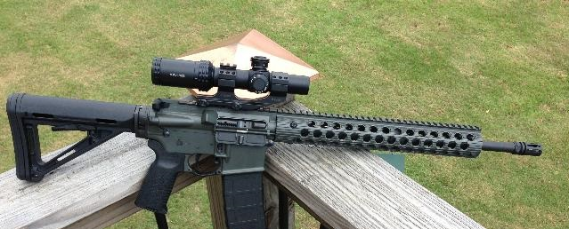 best budget ar scope