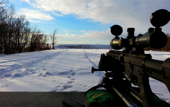 best budget long range scope