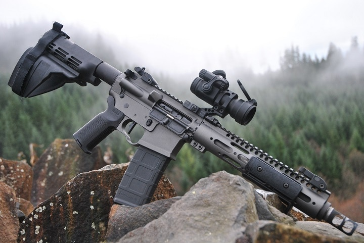tactical rifle optics