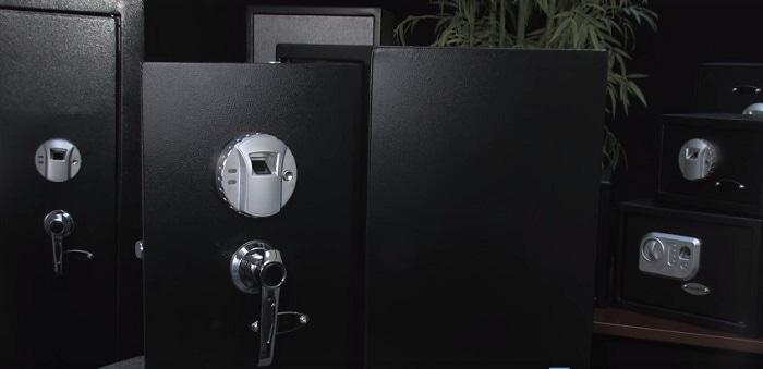biometric handgun safe
