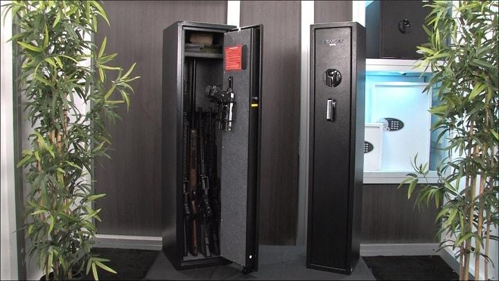 biometric rifle safe