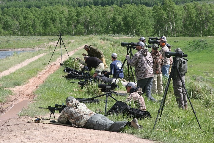how to use rifle scope