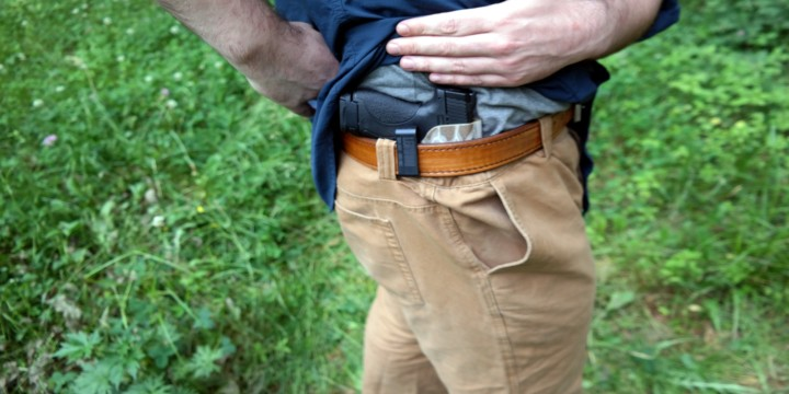 holster concealment