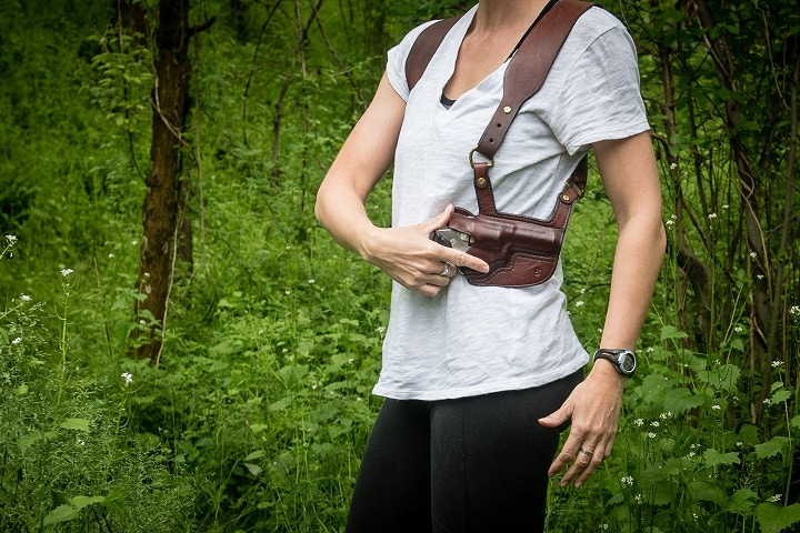 shoulder carry holster