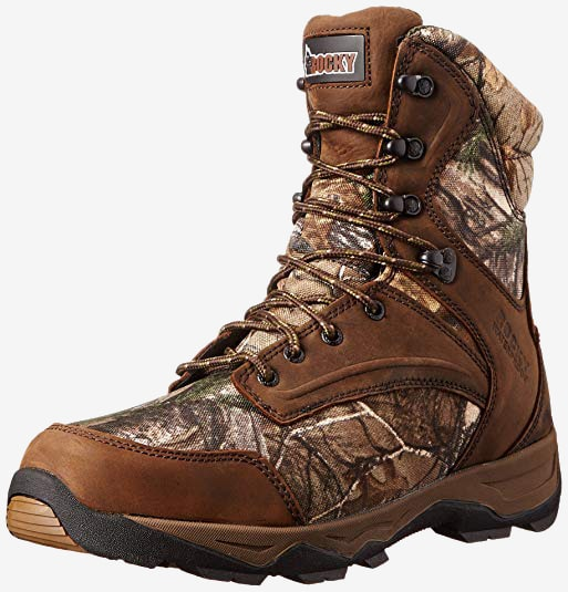 "Rocky Men's 8"" Retraction 800G Hunting Boots."