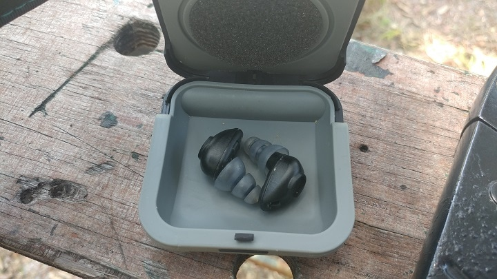 electronic ear protection for shooting