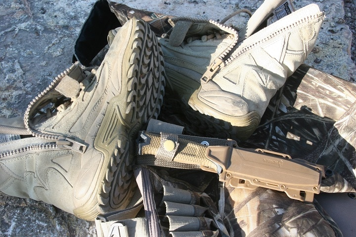 military hunting boots