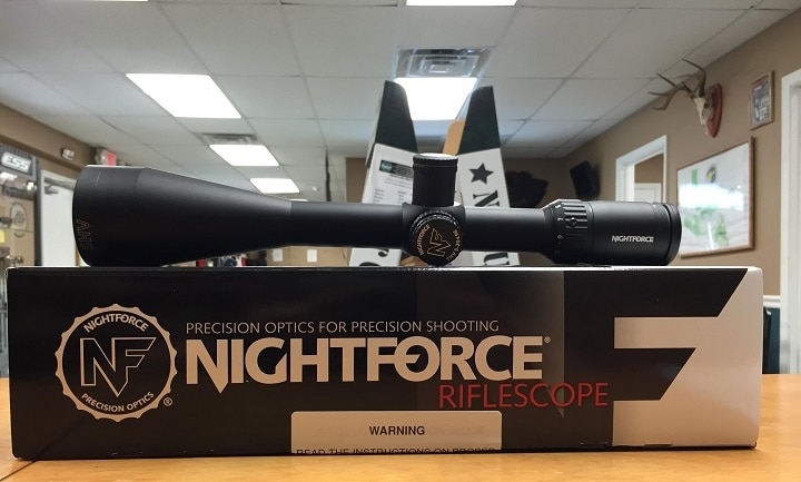 nightforce shv