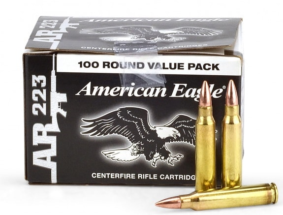 Federal American Eagle 223 Rem 55 Grain
