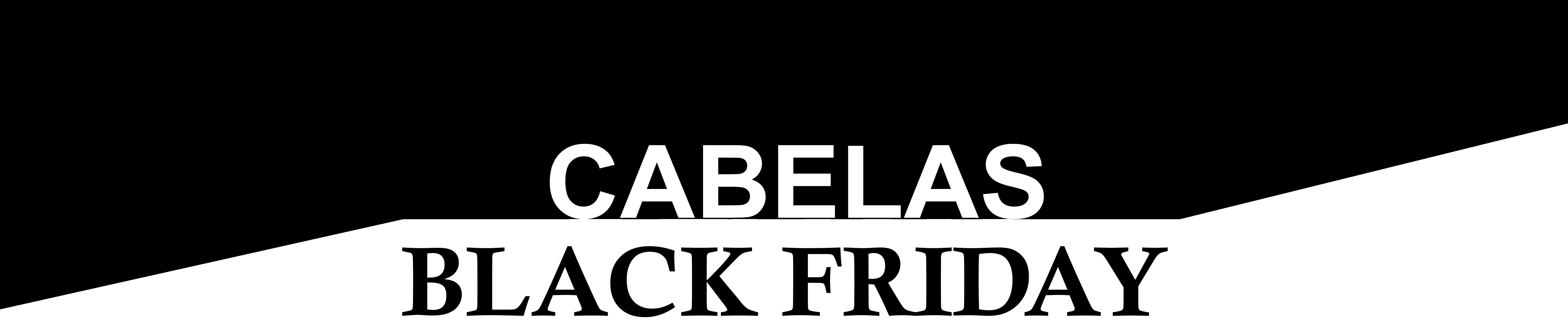 cabelas black friday 2018