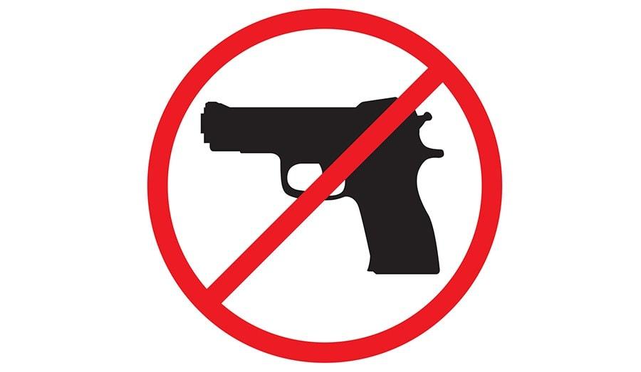 gun ban and guard's struggle