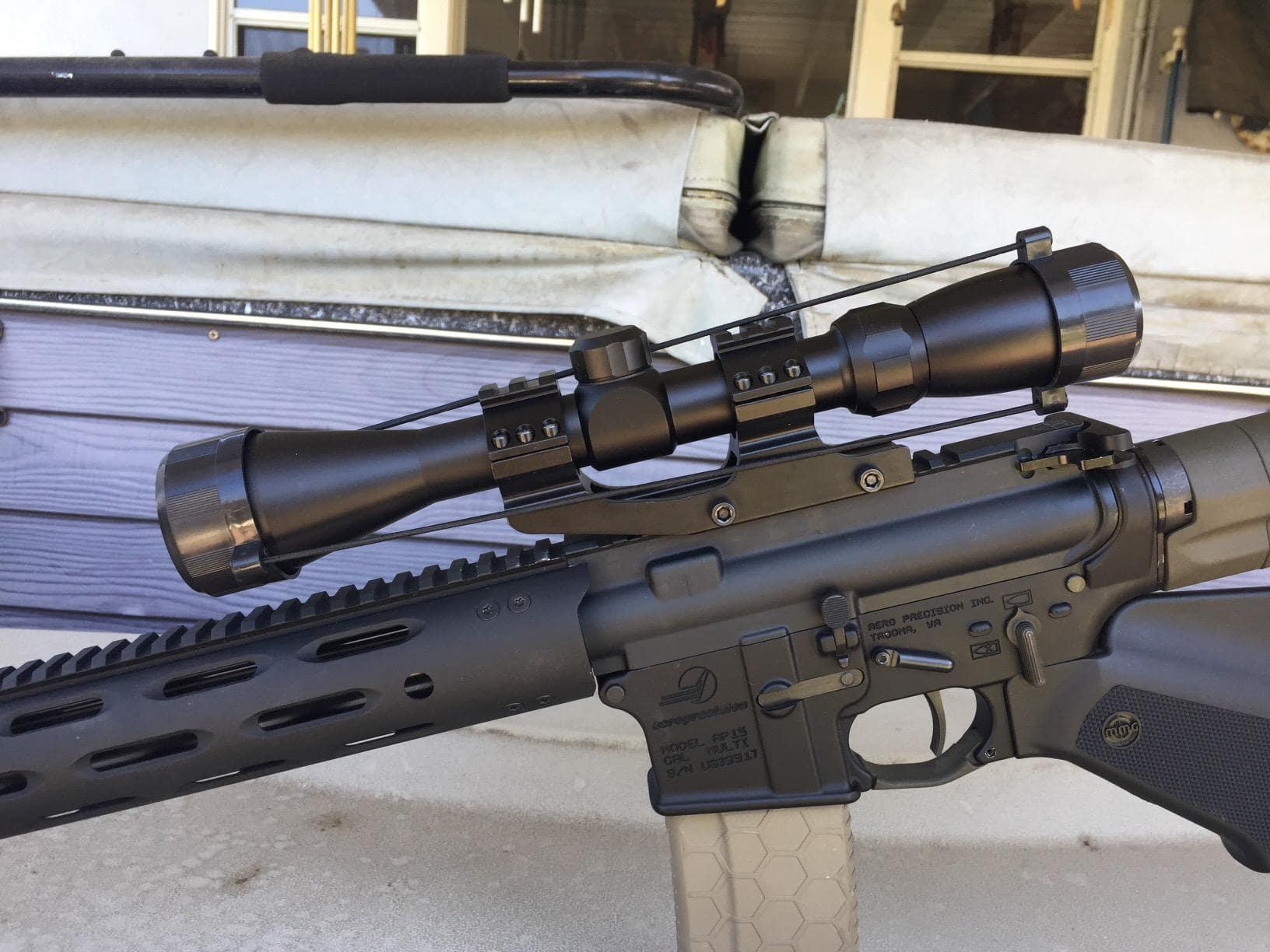 cantilever scope mount ar 15