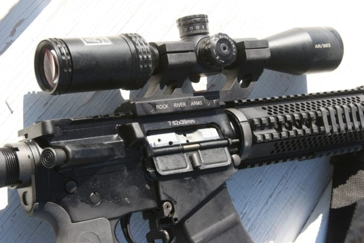 best rifle scopes under 100