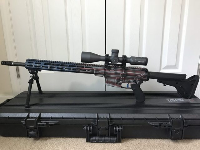 Tract Scope on AR 15