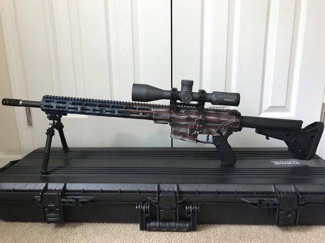 Tract Scope on AR 15