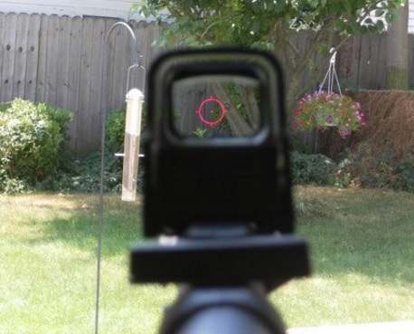 holographic rifle sights