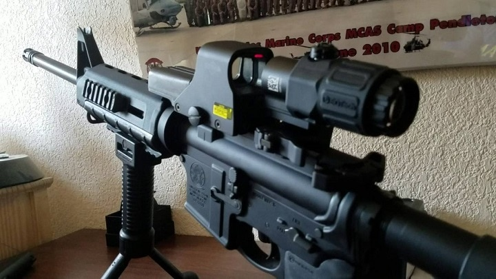 holographic sight for ar 15