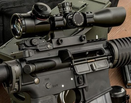 AR 15 BUGDET SCOPE