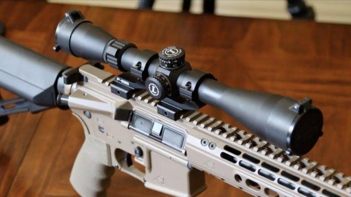 ar coyote hunting scopes mark 9x40 leupold scope ar15 rifle