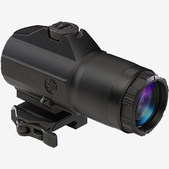 ar 15 red dot magnifier