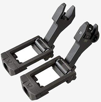 Strike Industries Side Winder open sight set.