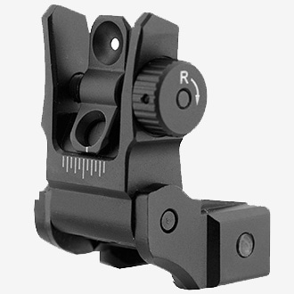 UTG Low Profile Flip-Up Rear Sight