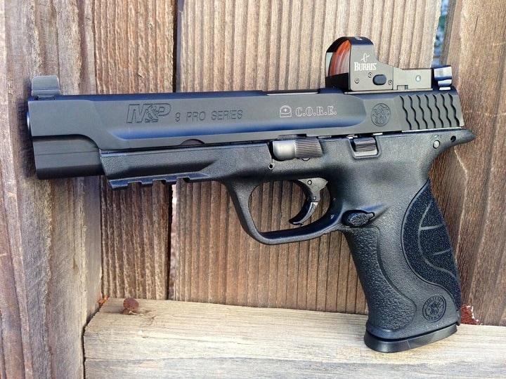 pistol reflex sight
