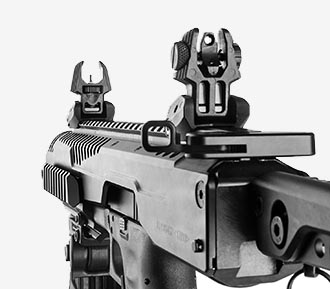 FAB Defense Rear Sight.