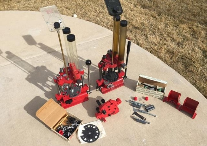 fully automatic reloading press