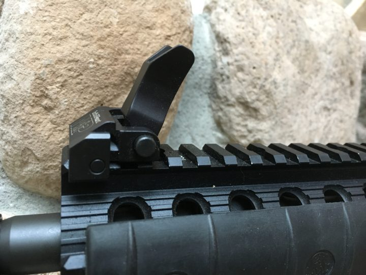 best ar 15 iron sights