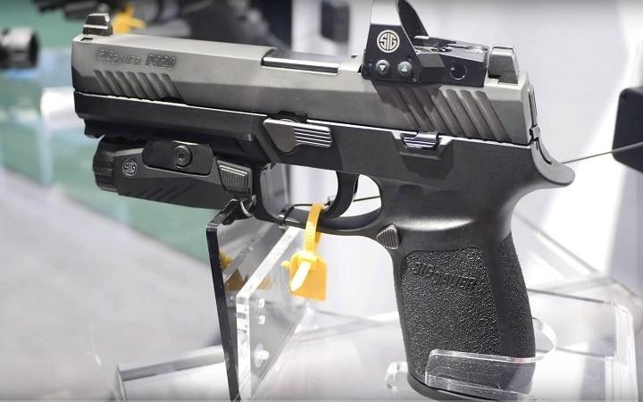 red dot sight for pistol