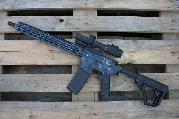 best scope for ar 10 308