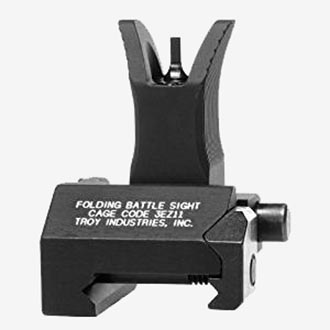 Troy Industries Front Folding Style Battle Sight.